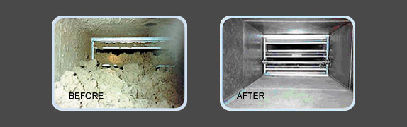 Air Duct Cleaning Hanover Park - Before & After photos
